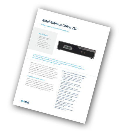 mitel-office-250-datasheet